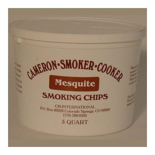 Camerons Mesquite Wood Chips 5-quart