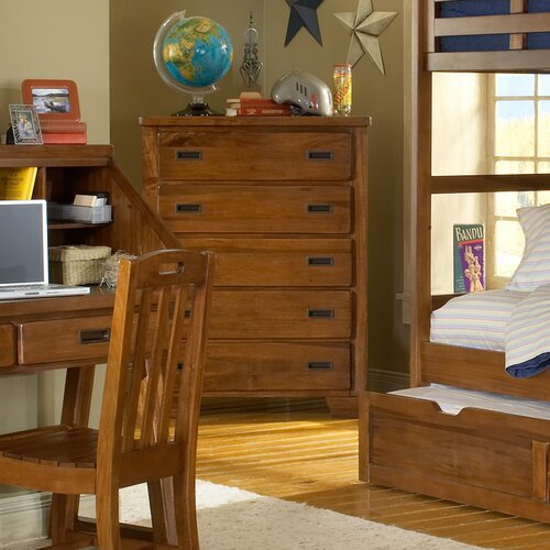 American Woodcrafters Heartland 5-Drawer Chest