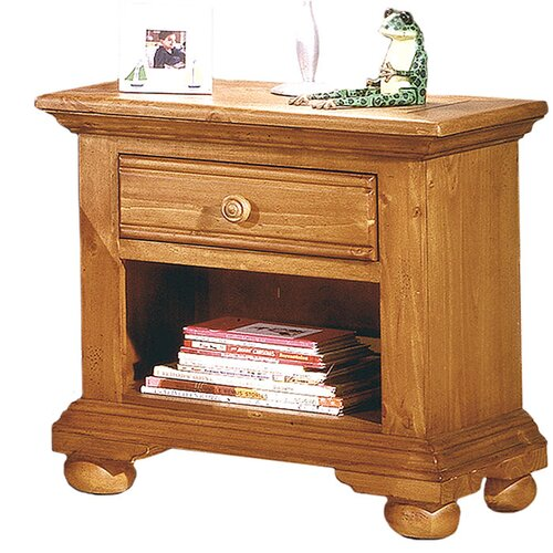 American Woodcrafters Ambleside 1 Drawer Nightstand