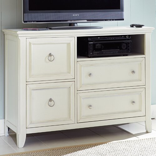 Courtyard 4 Drawer Media Chest