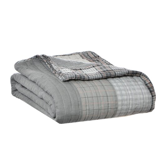 Fairview Quilted Cotton Throw