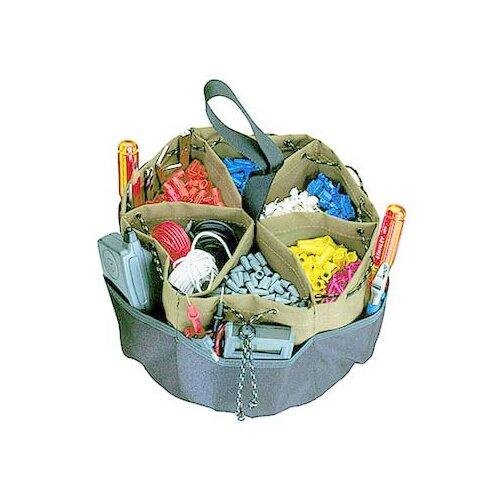 Custom Leathercraft 22 Pocket Drawstring Bucket Bag