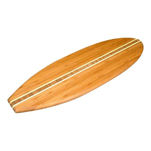 Totally Bamboo Tropical SurfBoard Cutting Board