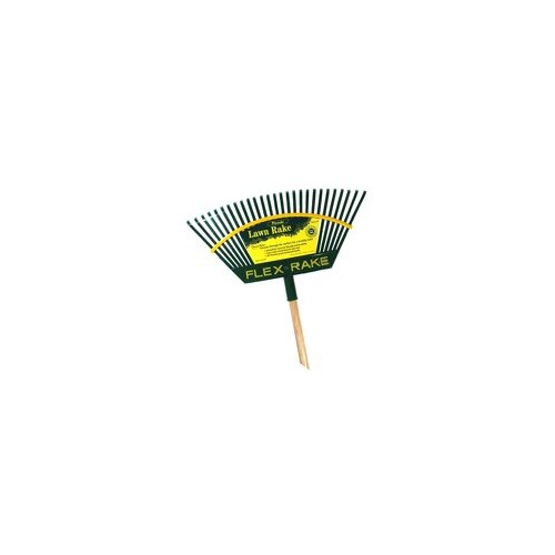 Flexrake Handle Lehan® Action Poly® Head Lawn Rake