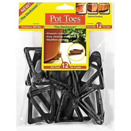 Gardenrite Gardenrite Pot Toes (Set of 12)