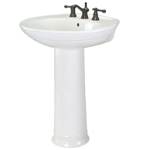 Aden Pedestal Bathroom Sink