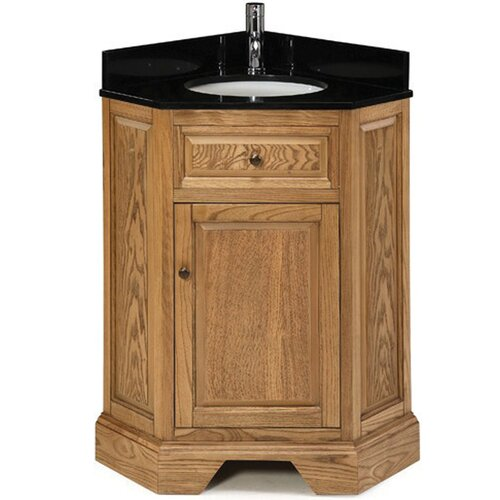 pegasus chesapeake 26 single corner bathroom vanity set