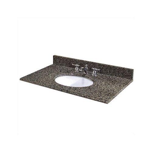 """Pegasus 61"""" Granite Vanity Top with Sink"""