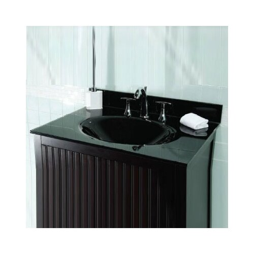 49 glass vanity top with sink wayfair