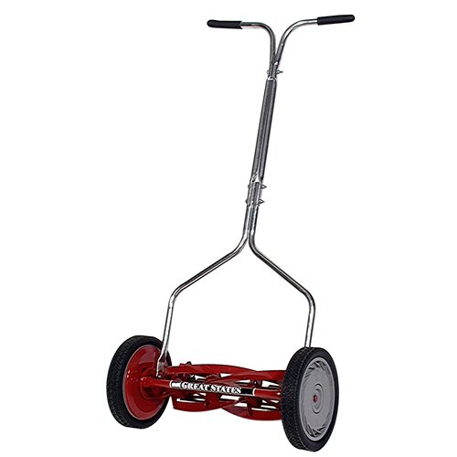 "Great States 16"" Standard Light Push Reel Mower"