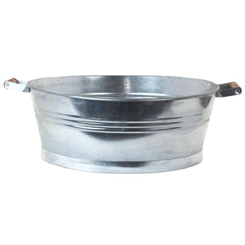 Houston International Oval Galvanize Beverage Tub
