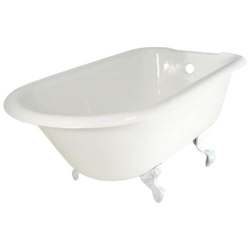 "Elizabethan Classics 60"" x 30"" Roll Top Bathtub"