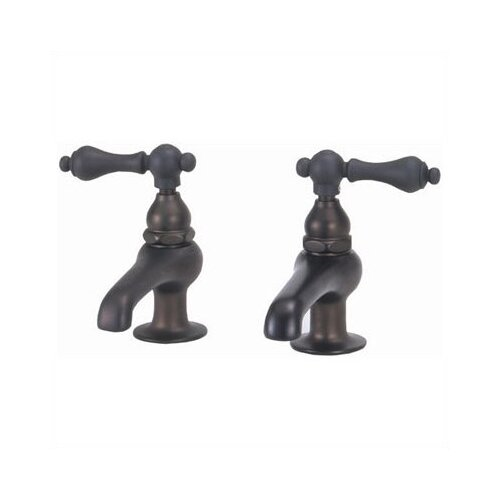 Elizabethan Classics Bathroom Faucet Set with Metal Lever Handles