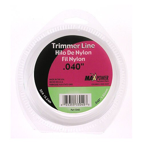 "Maxpower Precision Parts 0.04"" x 600"" Trimmer Line"