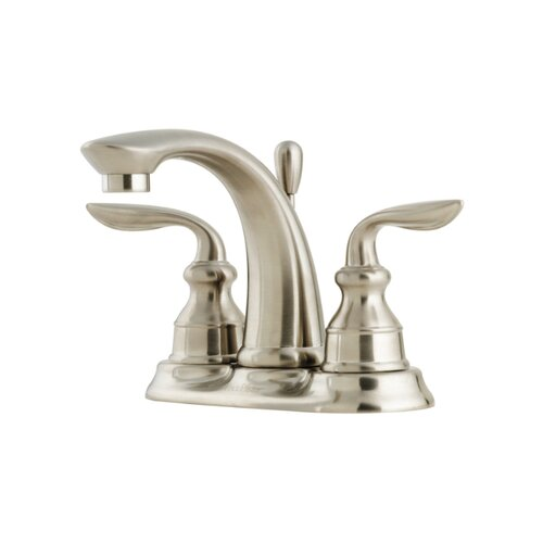 Price Pfister Avalon Centerset Bathroom Faucet with Single Lever Handle