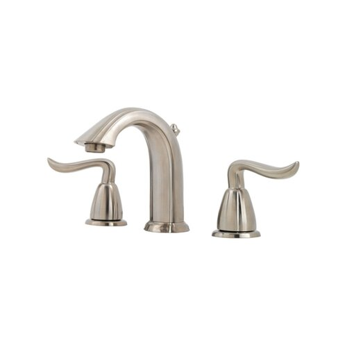 Price Pfister Santiago Widespread Bathroom Faucet with Double Lever Handles