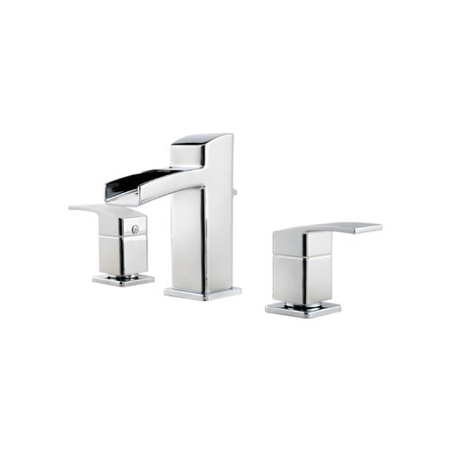Price Pfister Kenzo Widespread Bathroom Faucet with Two Lever Handles