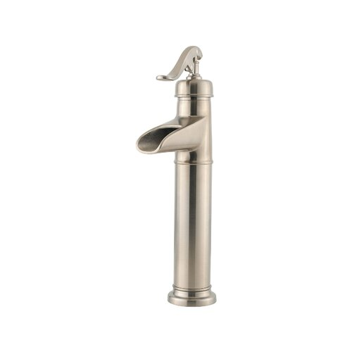 Price Pfister Ashfield Single Hole Vessel Faucet with Single Scroll Handle
