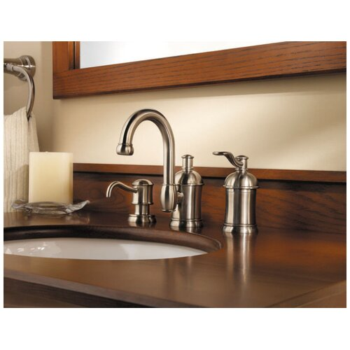 Price Pfister Amherst Widespread Bathroom Faucet with Double Lever Handles