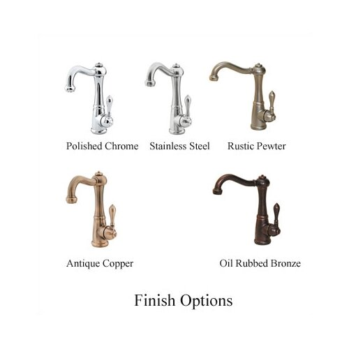 Marielle One Handle Single Hole Bar Faucet