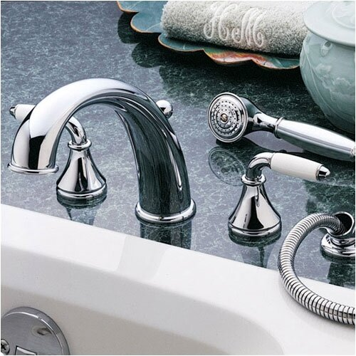 American Standard Amarilis Double Handle Deck Mount Roman Tub Faucet