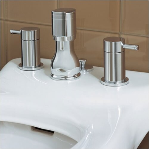 American Standard Serin Double Handle Vertical Spray Bidet Faucet