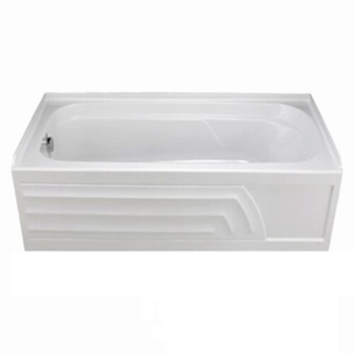 "American Standard Colony 66"" x 32"" Bathtub with Integral Apron"