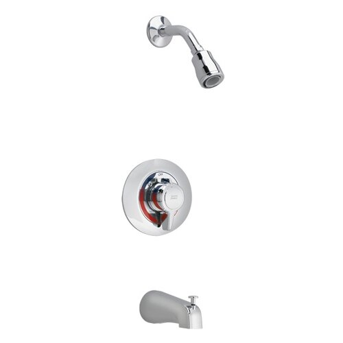 American Standard Colony Diverter Shower Faucet Trim Kit with Metal Lever Handle