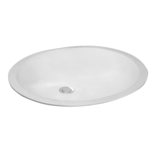 Nevada Oval Undermount Bathroom Sink