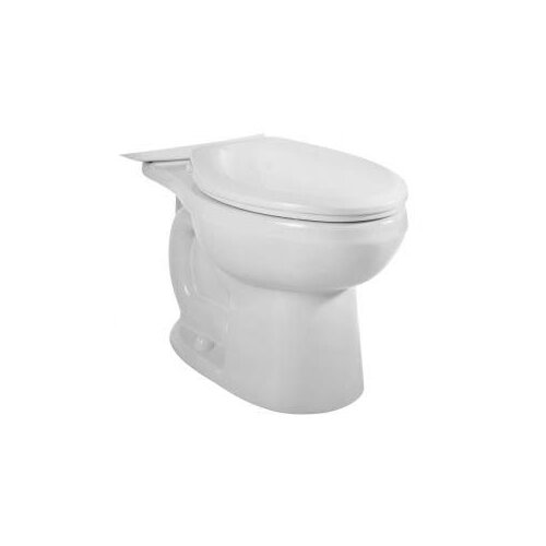 American Standard H2Option Dual Flush Right Height Elongated Toilet Bowl Only