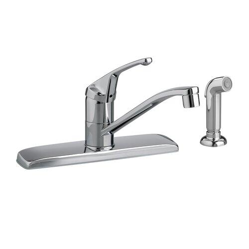 American Standard Colony Single Handle Centerset kitchenFaucet with Side Spray