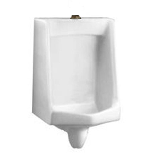 "American Standard Lynbrook Urinal with 1.25"" Top Spud, Wall Hangers, and Outlet Connection"