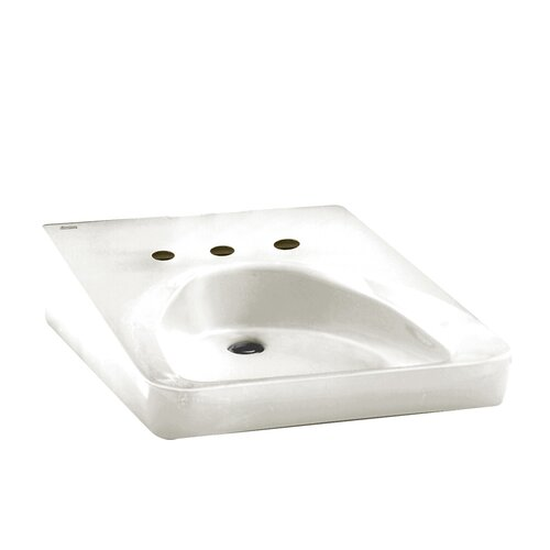 Ada Compliant Wall Mount Bathroom Sink Wayfair