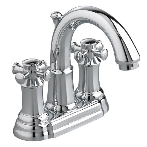 American Standard Portsmouth Centerset Bathroom Faucet with Double Cross Handles
