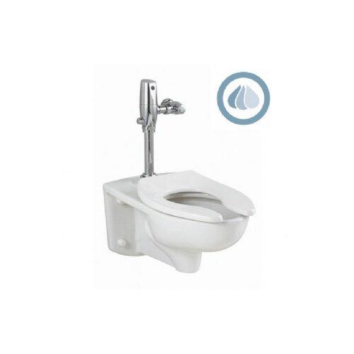 American Standard Afwall EverClean 1.1 GPF Elongated Select Flush Valve 1 Piece Toilet