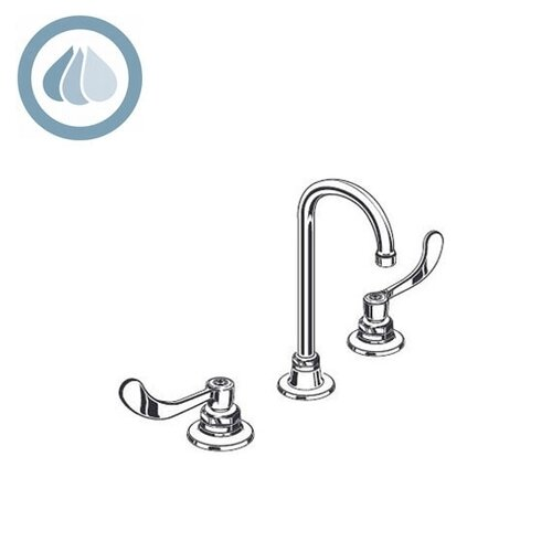 Monterrey Double Handle Widespread Bathroom Faucet with Limited Swivel Spout