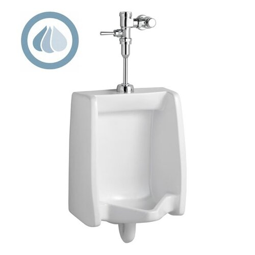 American Standard Washbrook 0.5 GPF Urinal with Manual Flush Valve