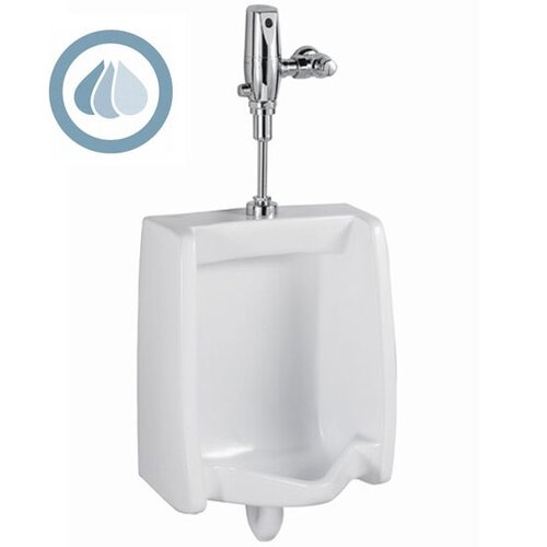 American Standard Washbrook 0.5 GPF Selectronic Toilet Flush Valve Toilet Seat System