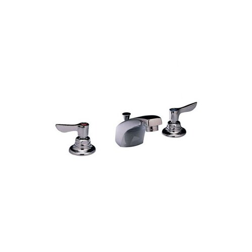 Monterrey Lever Handle Widespread Kitchen Faucet with Grid Drain