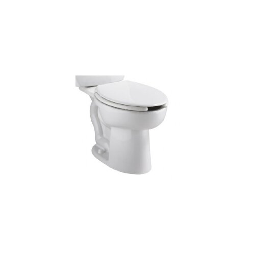 American Standard Cadet Flowise 1.1 GPF / 1.6 GPF Elongated Toilet Bowl Only with Slotted Rim for Bedpan Holding