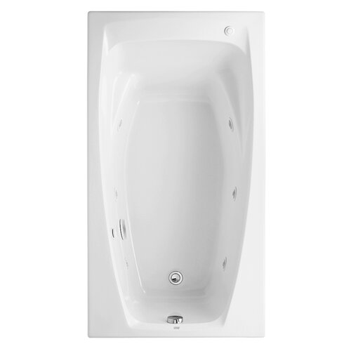 "American Standard Colony 60"" x 33"" Whirlpool Tub with Hydro Massage"