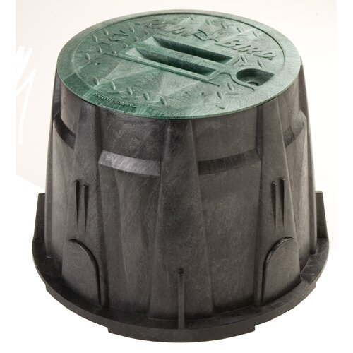 "Rainbird 10"" Round Valve Box with Lid"