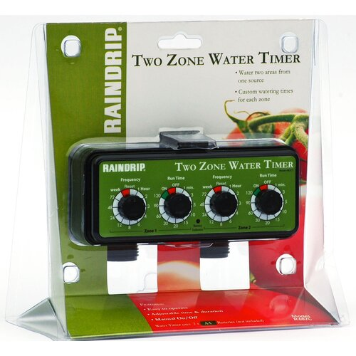 Raindrip Dual Station Water Timer