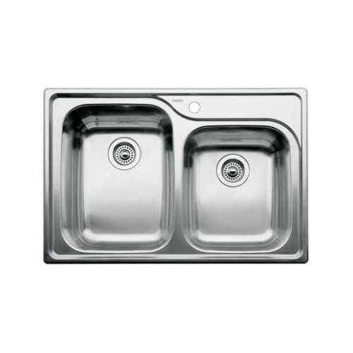 "Blanco Supreme 33"" x 22"" Bowl Drop-In Kitchen Sink"