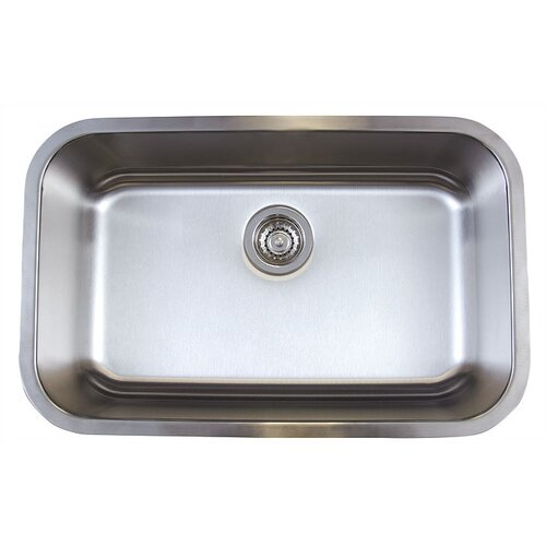 "Blanco Stellar 28"" x 18"" Super Single Bowl Undermount Kitchen Sink"