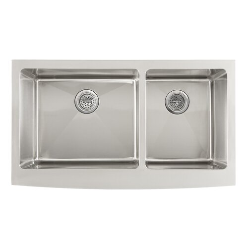 Double Bowl Kitchen Sink : Schon 36