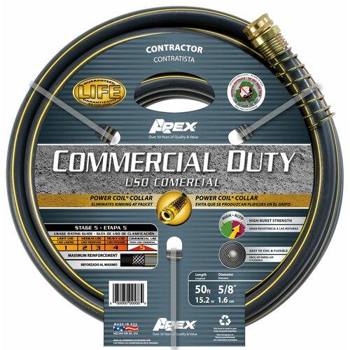 """Teknor Apex 0.63"""" x 600"""" Commercial Rubber / Vinyl Hose"""