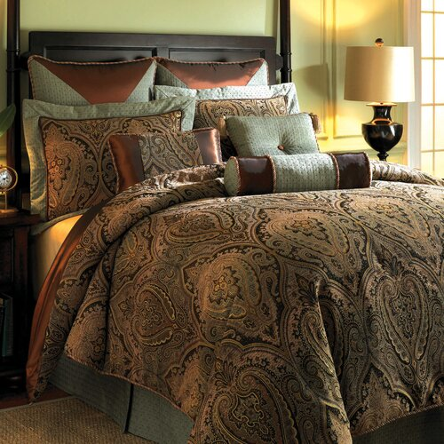 Hampton hill canovia springs comforter set reviews wayfair for House of hampton bedding