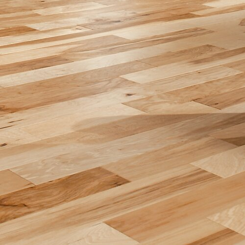 Artistic 5 Quot Engineered Hickory Flooring In Natural Wayfair