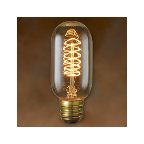 Bulbrite Industries 40W Amber 120-Volt (2100K) Incandescent Light Bulb